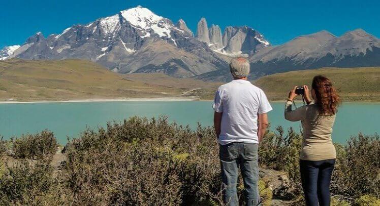 Viajeros conocen Torres del Paine sin trekking
