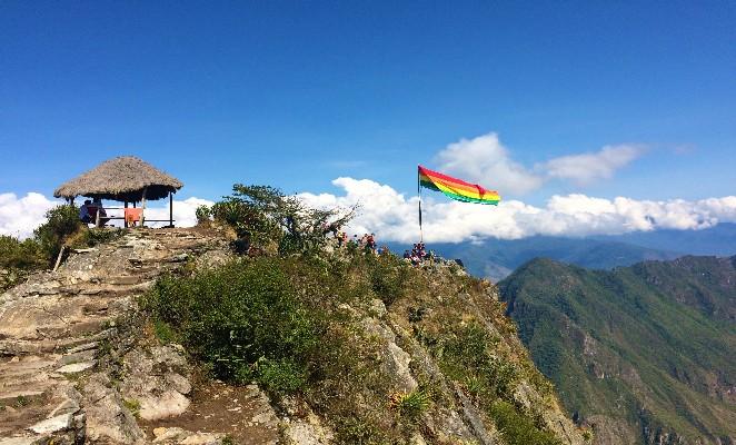 Cumbre Montaña Machu Picchu