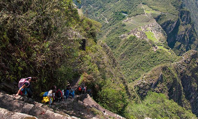 Flickr: Andrea Moronl /bajada Montaña Huayna Picchu