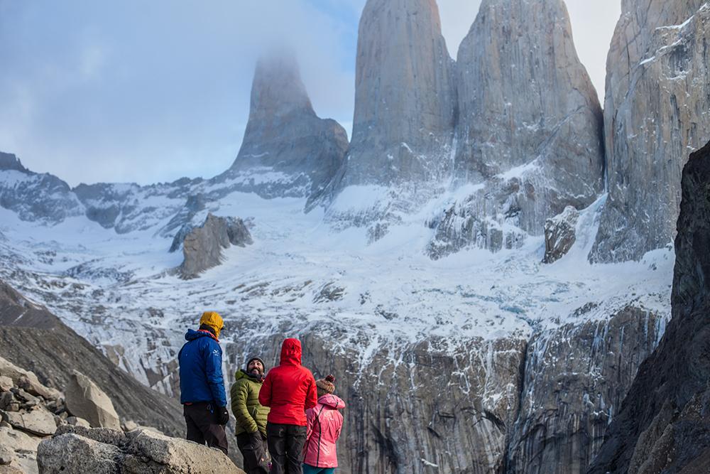Torres del Paine forma más barata trekking base Torres del Paine