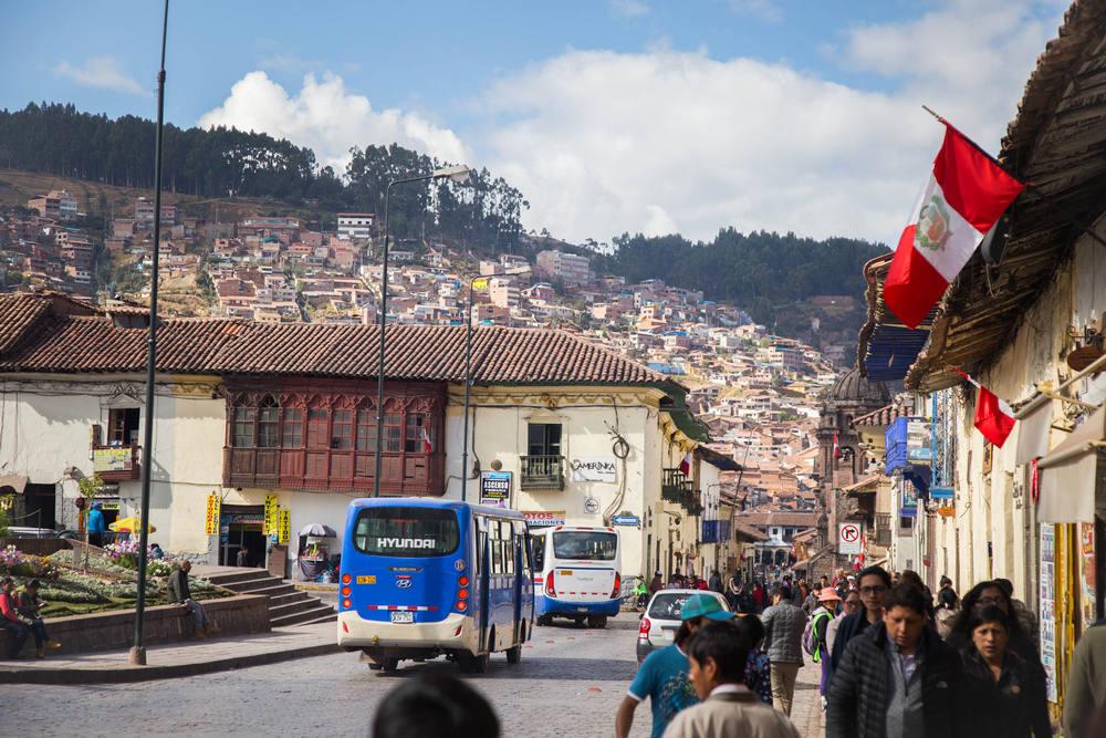 Centro de la ciudad de Cusco