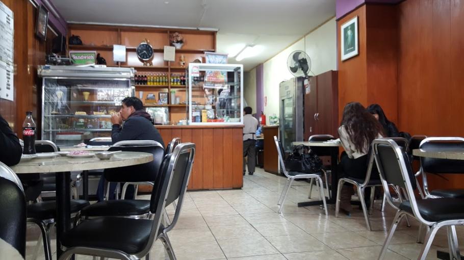 Típico restaurante criollo de la ciudad de Lima