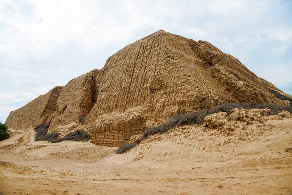 Imponente construcción pre inca